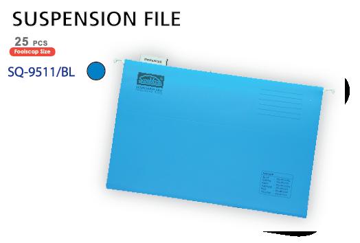 Bìa treo màu xanh SQ-9511-BL